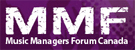 music managers forum canada